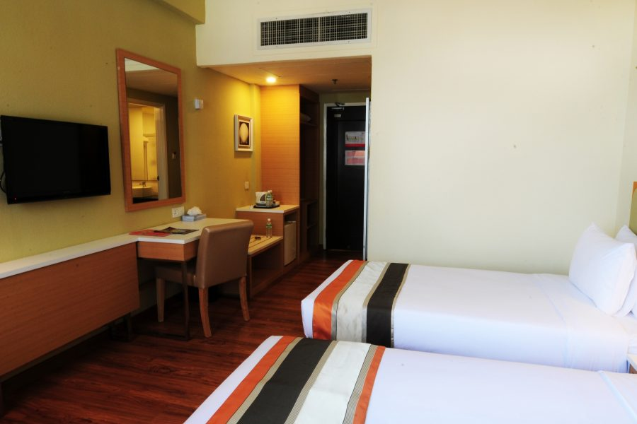 Hotel Sentral Seaview Penang Deluxe Twin Room