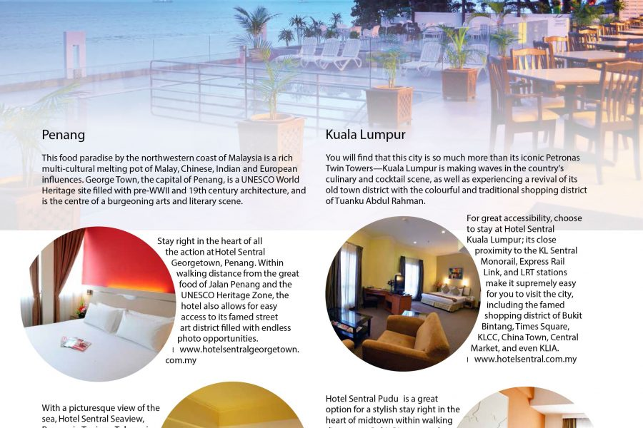 Hotel Sentral Seaview Penang Lonely Planet Globetrotter