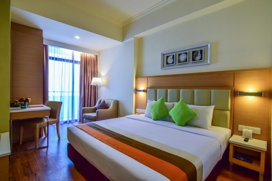 Hotel Sentral Seaview Penang Family Master Bed Room